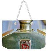 Rolls-royce Hood Ornament Weekender Tote Bag