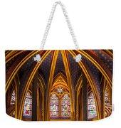 Sainte Chapelle Weekender Tote Bag