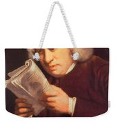 Samuel Johnson, English Author Weekender Tote Bag by Photo Researchers