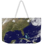 Satellite View Of The United States Weekender Tote Bag