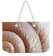 Seashell Surface Weekender Tote Bag by Elena Elisseeva