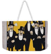 Sheet Music Cover, 1917 Weekender Tote Bag