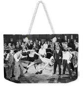 Silent Film Still: Boxing Weekender Tote Bag