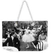 Silent Film Still: Dancing Weekender Tote Bag