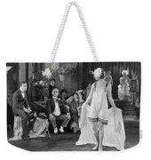 Silent Film Still: Fashion Weekender Tote Bag