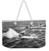 Silent Still: Beach Weekender Tote Bag