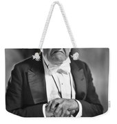 Silent Still: Single Man Weekender Tote Bag