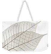 Skeleton Leaves Weekender Tote Bag by Elena Elisseeva