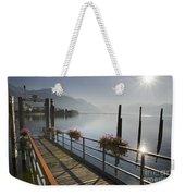 Small Port Weekender Tote Bag