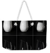Snow Melting Weekender Tote Bag by Ted Kinsman