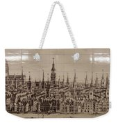 Southwark Bridge Artwork Weekender Tote Bag