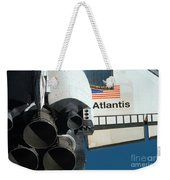 Space Shuttle Atlantis Weekender Tote Bag