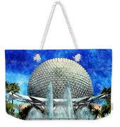 Spaceship Earth And Fountain Of Nations Weekender Tote Bag