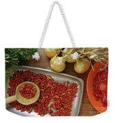 Spicy Still Life Weekender Tote Bag