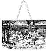 Spirit Lake Massacre, 1857 Weekender Tote Bag