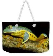 Splendid Leaf Frog Weekender Tote Bag