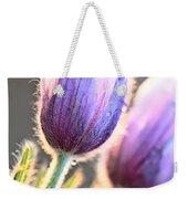 Spring Time Crocus Flower Weekender Tote Bag