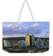 Standing Stones, Blacksod Point, Co Weekender Tote Bag