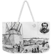 Statue Of Liberty, C1884 Weekender Tote Bag by Granger