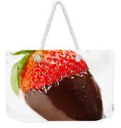 Strawberry Dipped In Chocolate Weekender Tote Bag