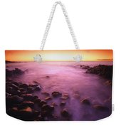 Sunset Over Water, Hawaii, Usa Weekender Tote Bag