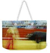 Tauromaquia Bull-fights In Spain Weekender Tote Bag