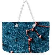 Tem Of Rna Attached To Dna Weekender Tote Bag by Omikron