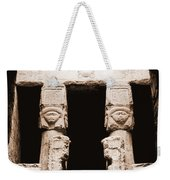 Temple Of Hathor Weekender Tote Bag