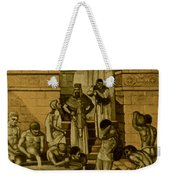 The Art Of Brewing, Babylon Weekender Tote Bag by Science Source