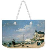 The Beach At Trouville Weekender Tote Bag