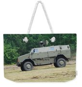 The Dingo 2 In Use By The Belgian Army Weekender Tote Bag