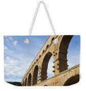 The Famous Pont Du Gare In France Weekender Tote Bag