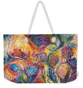 The Flowers And Fruits Weekender Tote Bag