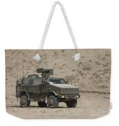 The German Army Atf Dingo Armored Weekender Tote Bag