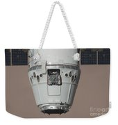 The Spacex Dragon Commercial Cargo Weekender Tote Bag