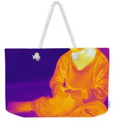 Thermogram Of A Boy Weekender Tote Bag