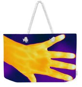 Thermogram Of A Hand Weekender Tote Bag