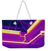 Thermogram Of Steam Pipes Weekender Tote Bag