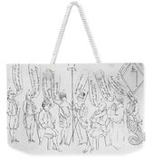 `treaty Of Paris, 1783 Weekender Tote Bag