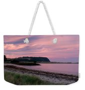 Twilight After A Sunset At A Beach Weekender Tote Bag by Ulrich Schade