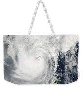 Typhoon Megi Weekender Tote Bag