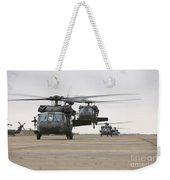 Uh-60 Black Hawks Taxis Weekender Tote Bag