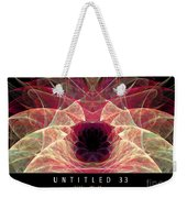 Untitled 33 Weekender Tote Bag
