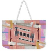 Urban Abstract San Diego Weekender Tote Bag by Carol Leigh