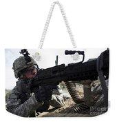 U.s. Army Soldier Provides Security Weekender Tote Bag