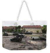 U.s. Soldiers Teach The Polish Military Weekender Tote Bag