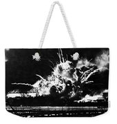 Uss Shaw, Pearl Harbor, December 7, 1941 Weekender Tote Bag