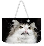 Vampire Cat Weekender Tote Bag