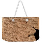 Venus Tablet Of Ammisaduqa, 7th Century Weekender Tote Bag