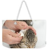 Vet And Kitten Weekender Tote Bag